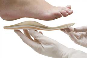 custom made foot orthotics